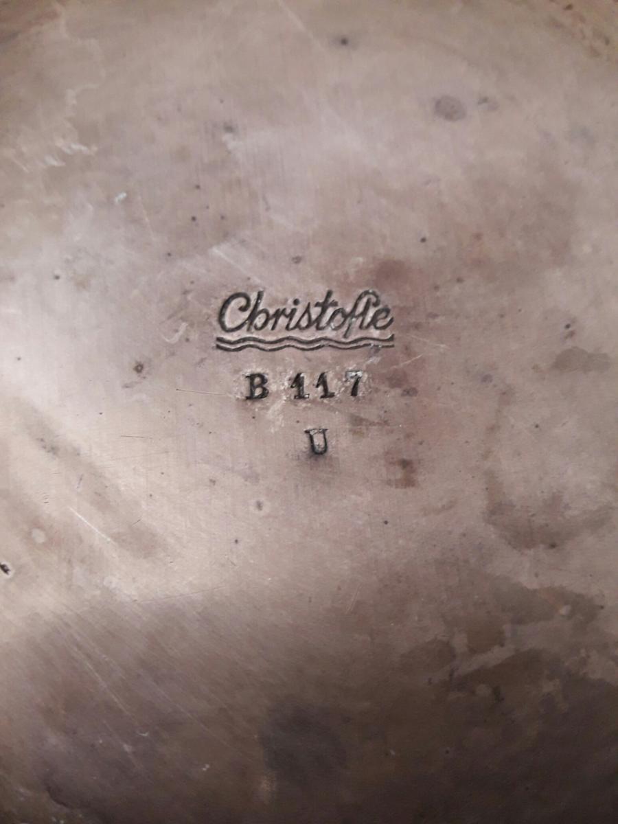 Vase Luc Lanel Pour Christofle-photo-2