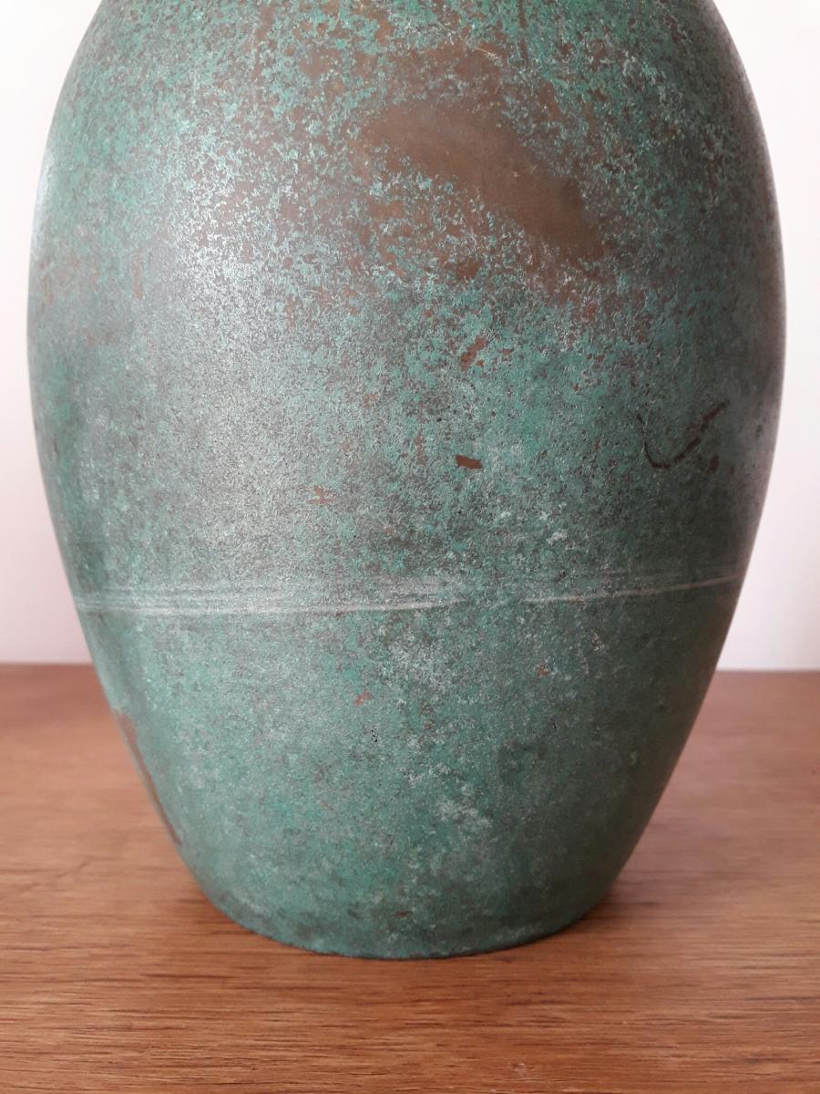 Vase Luc Lanel Pour Christofle-photo-4