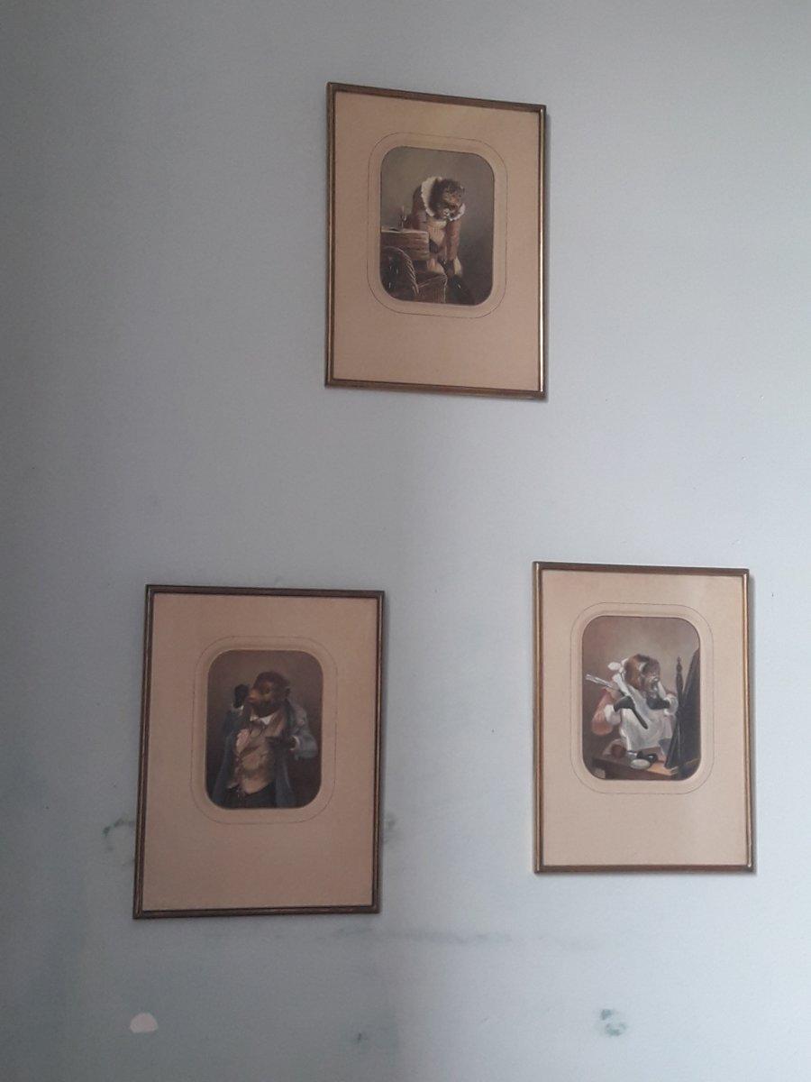"""""""Singeries"""" début XIXème"""