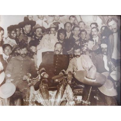 Ensemble de 3 Photos - Agustin Victor Casasola (1874-1938)