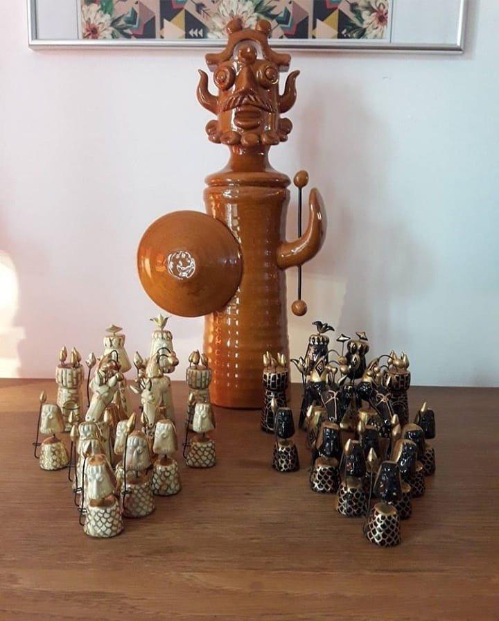 Jeu d'échecs Accolay - 1960
