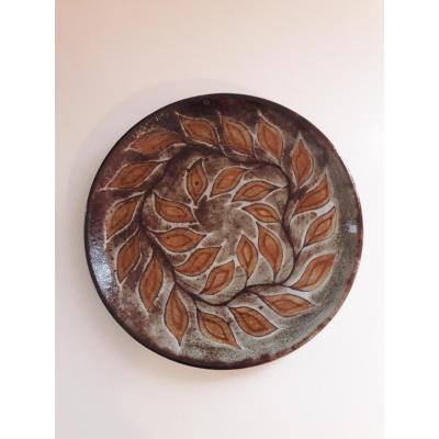 Plate Jean-claude Malarmey - Vallauris