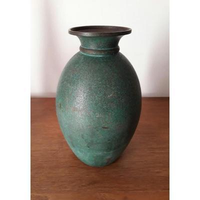 Vase Luc Lanel Pour Christofle
