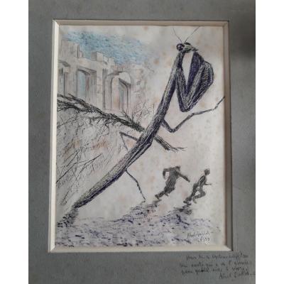 Dessin - Abel Imblot 1959