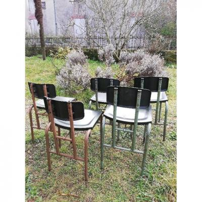 Suite Of 5 Modernist Chairs