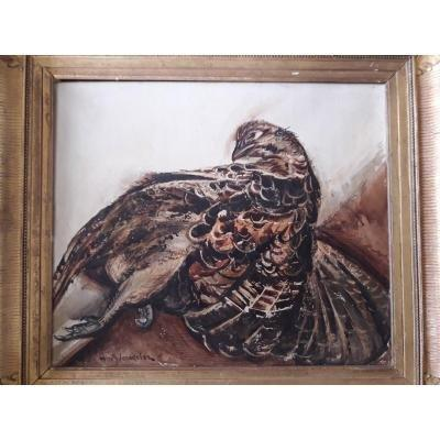 Henry De Waroquier - Oil On Canvas