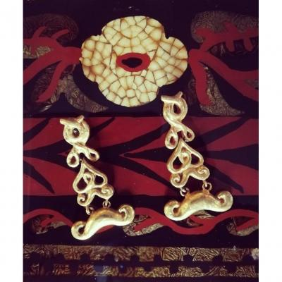 Line Vautrin - Pair Of Earrings