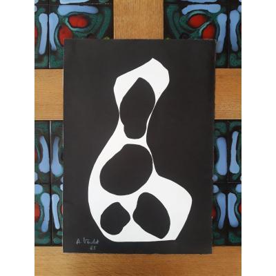 André Verdet - Grande Lithographie