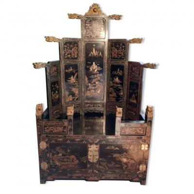 Chinese Cabinet - Art Deco Period
