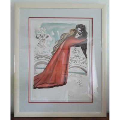 Salvador Dali - Lithographie Originale