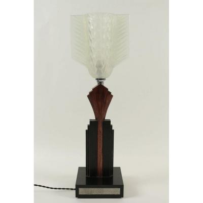 Lampe Art Deco Tulipe Davesn Opalescente