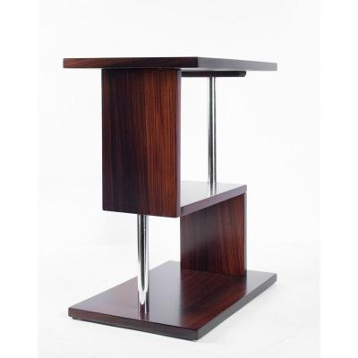 Cubist Pedestal Table Art Deco Period