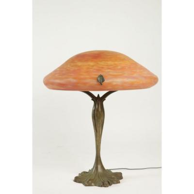 Lampe Art Nouveau Daum