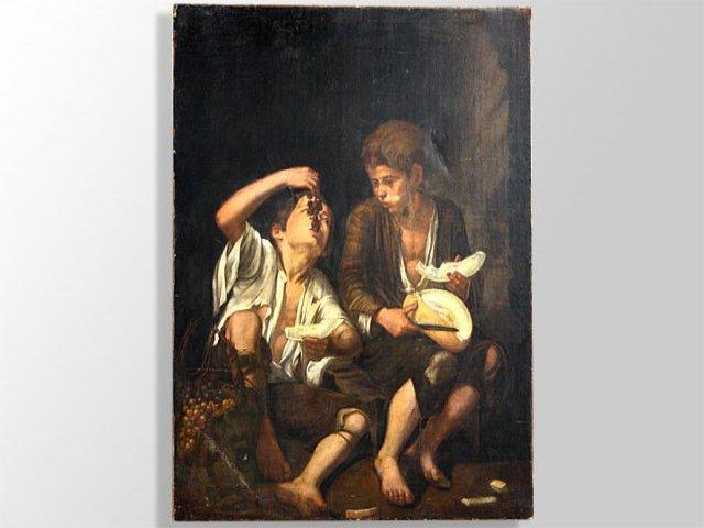 Huile Sur Toile XVIIème Atelier De Murillo