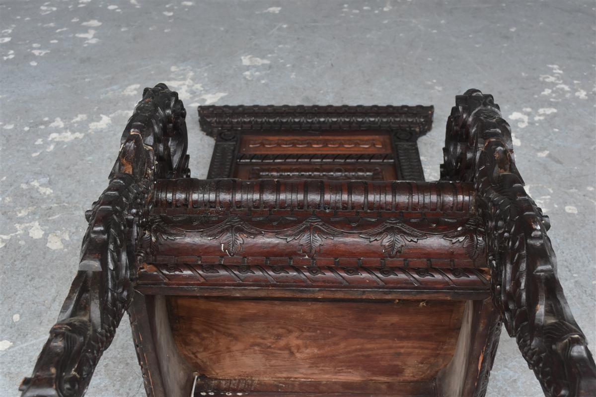 Paire De Fauteuil Asiatique Palissandre époque XIXème-photo-6