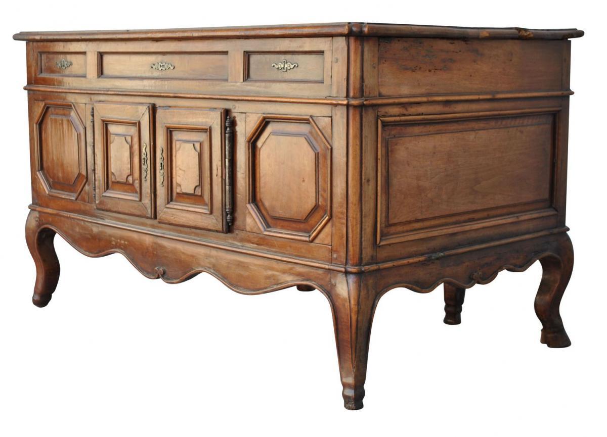 Office Mazarin Louis XV Walnut XVIIIth