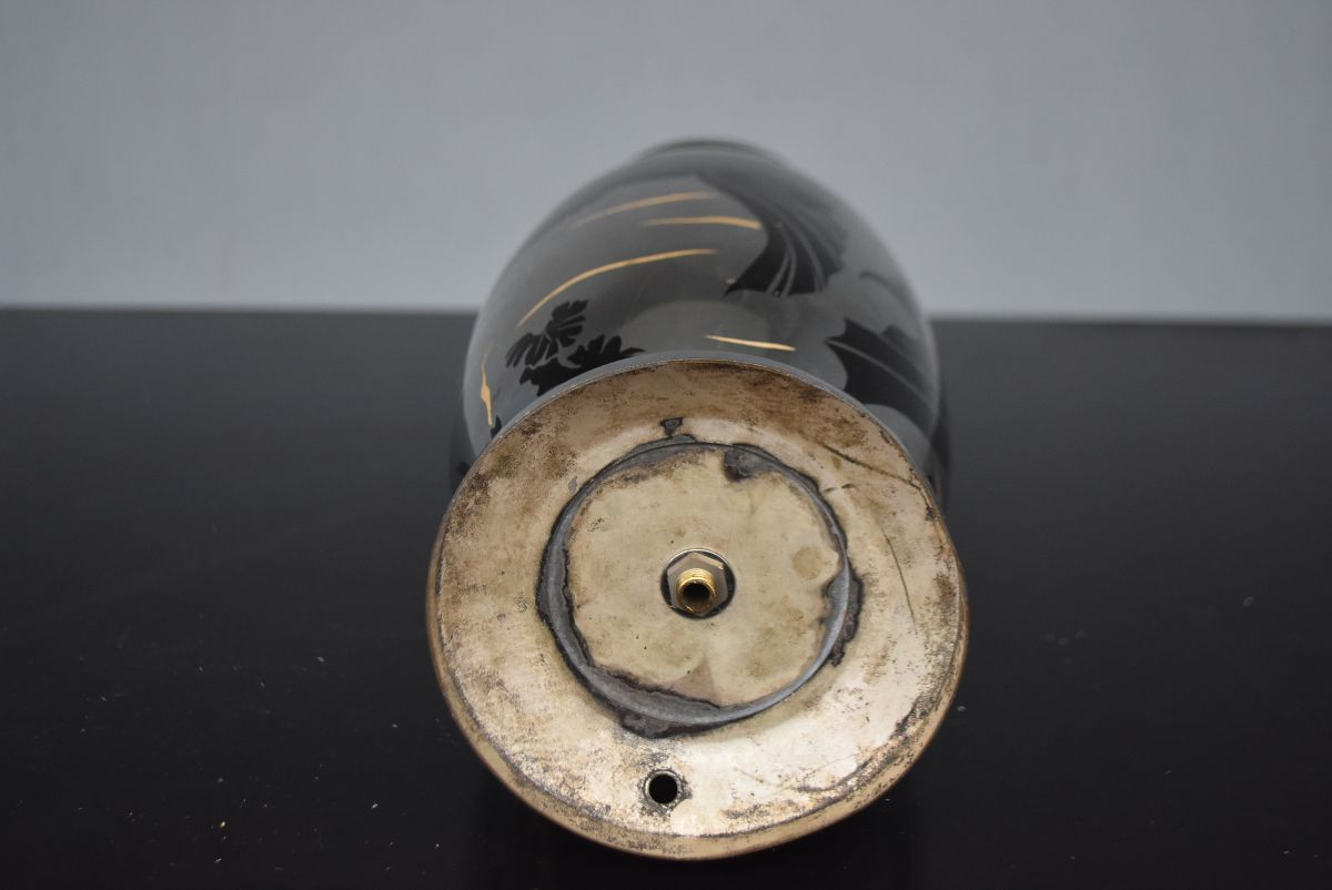Table Lamp Art Deco Au Poisson 1930 Lucien Gerfaux-photo-3
