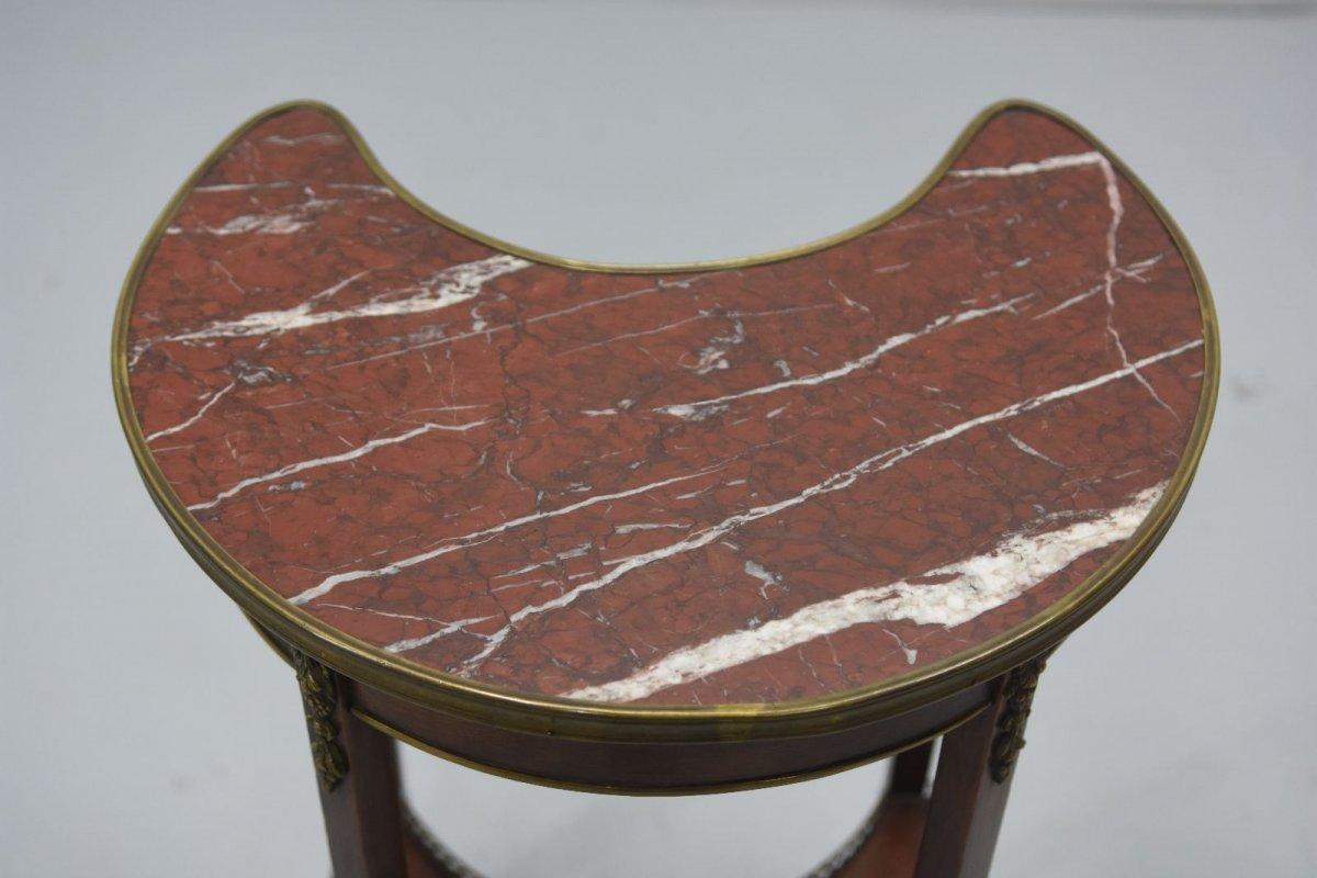 Table De Chevet Style Louis XVI Acajou époque XIXème-photo-3