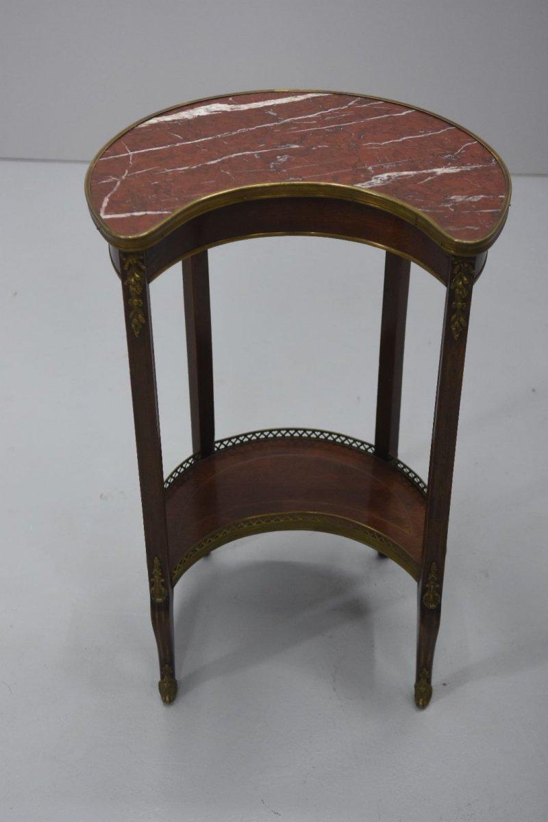 Table De Chevet Style Louis XVI Acajou époque XIXème-photo-4