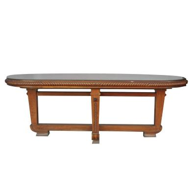 Table Rounded Edges 1940 Walnut