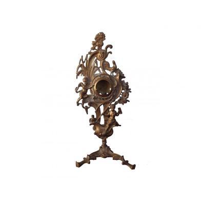 Porte Montre En Bronze d'époque Louis XIV