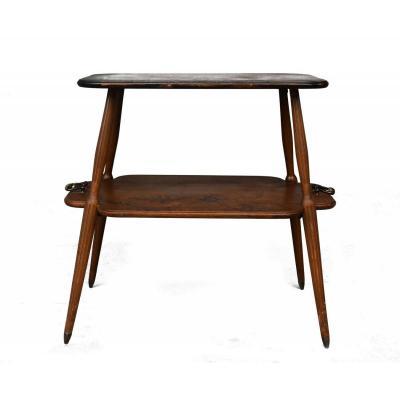Table à Thé Double Plateau Art Nouveau  Louis Majorelle 1900