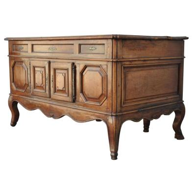 Office Mazarin Louis XV Walnut XVIIIth