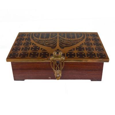 Art Nouveau Rosewood Box 1900 Erhard & Sohne