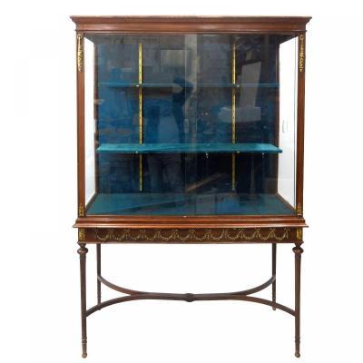 Exhibition Showcase 1900 Louis XVI Style