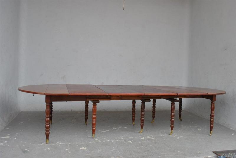 Table à 10 Pieds En Acajou d'époque XIXème-photo-3