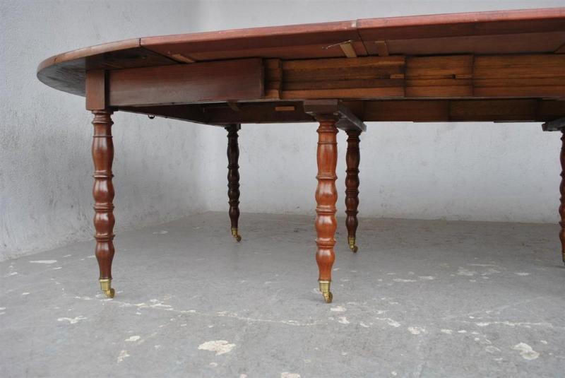 Table à 10 Pieds En Acajou d'époque XIXème-photo-4