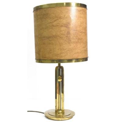 Lampe De Bureau Laiton Moderniste