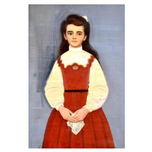 Peinture Acrylique époque XXème Rudolf Kundera école Tchèque
