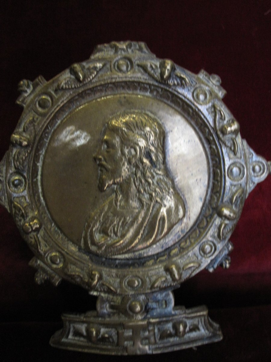 Italian Peace Bearer In Bronze From The 16th Century
