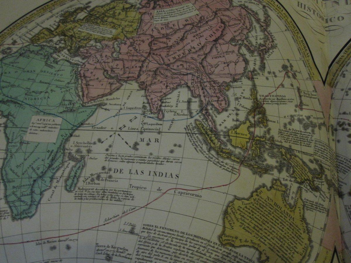 Count De Las Casas. Historical, Genealogical, Chronological, Geographic And Statistical Atlas-photo-1