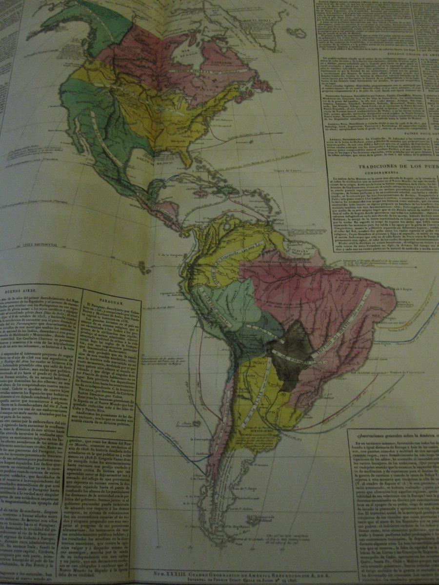 Count De Las Casas. Historical, Genealogical, Chronological, Geographic And Statistical Atlas-photo-5