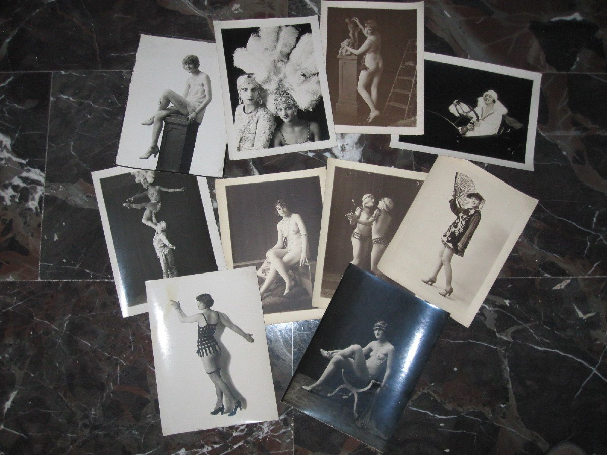 10 Original Artistic And Erotic Photographs From The 1920s