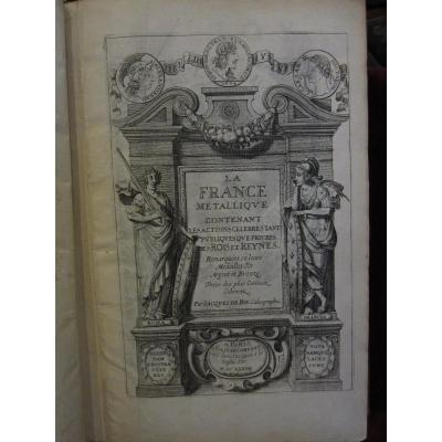 La France Metallique Livre Publié à Paris En 1636