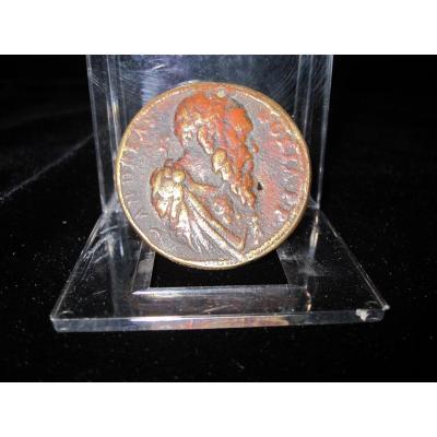 Médaille Andrea Doria. Por Leon Leoni