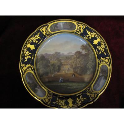 19th Century Sèvres Porcelain Plate