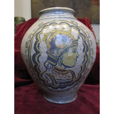 Vase En Céramique Italienne Du 18ème Siècle