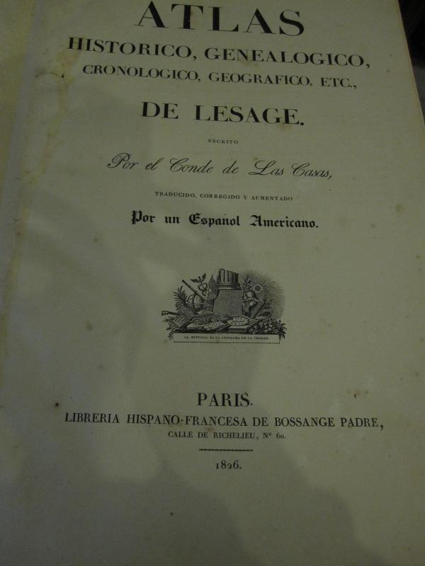 Count De Las Casas. Historical, Genealogical, Chronological, Geographic And Statistical Atlas-photo-3