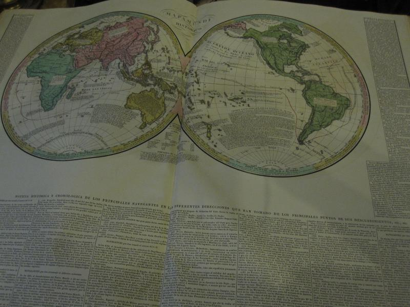 Count De Las Casas. Historical, Genealogical, Chronological, Geographic And Statistical Atlas-photo-4