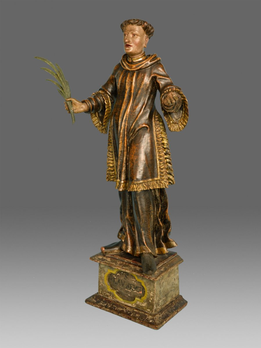 Sculpture Saint Laurent About 1680
