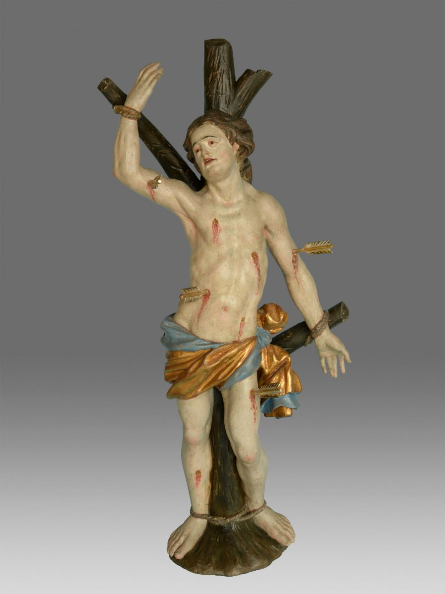 Sculpture Saint Sebastien Around 1730