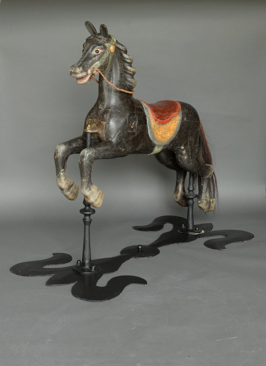 Carousel Horse Second Half 19th Century