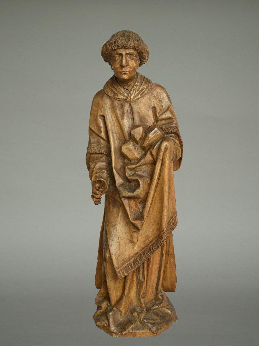 Sculpture Saint Stephanus / Stéphane Vers 1520