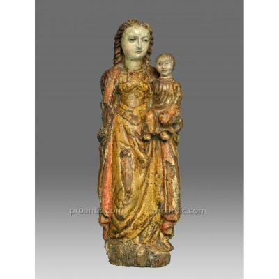 Vierge Haute Epoque Vers 1500