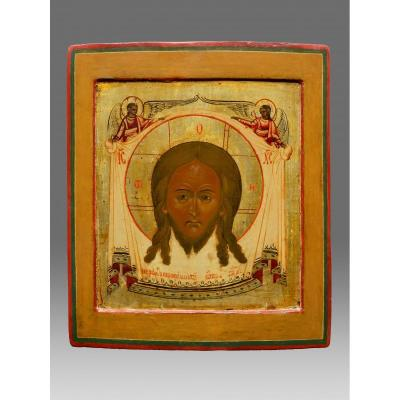 Icône Mandylion Christi Vers 1800 -icon Icone Ikone