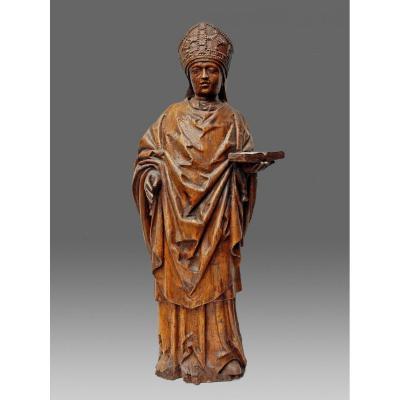 Sculptures Bois Pontife Haute Epoque